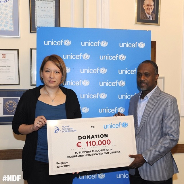 #NDF donates 110.000 euros to #UNICEF Offices in Bosnia and Herzegovina and in Croatia ? #helpinghand #BalkanFloods #donations #SupportSerbia #SupportBiH #SupportCroatia #NDFteam #GoodNews #poplave