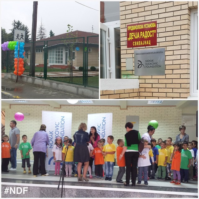 So happy and proud to be in Svilajnac, where we're reopening kindergarten Dečja radost, after the recent floods ❤️ And all thanks to your donations ? #donations #reconstruction #happy #NDF #NDFteam #serbia #svilajnac #floods #poplave