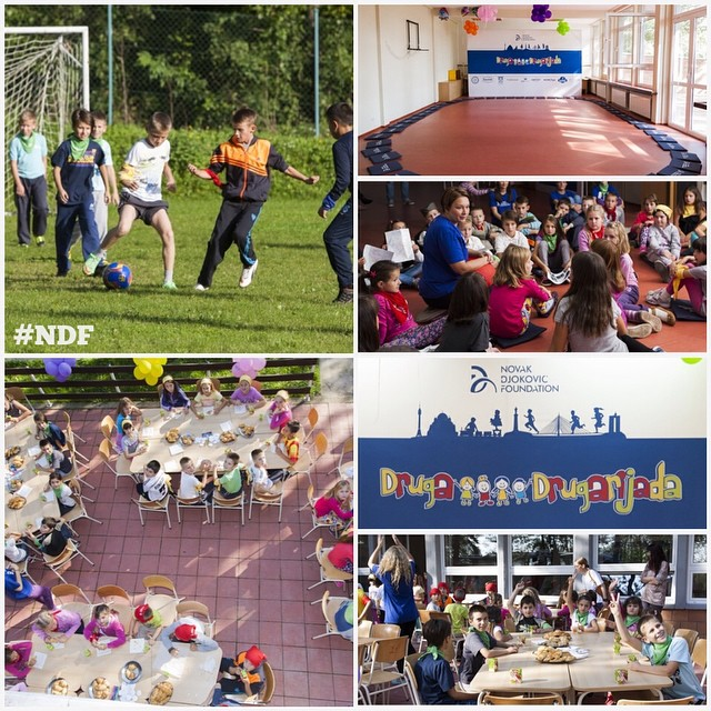 In the begining of Children's week, we are helding our second #FriendshipGames camp for children, look how it was on Day 1 of this wonderful event! ❤️ #Drugarijada #children #happiness #NDF #NDFteam #ProjectUpdate #learnandplay
