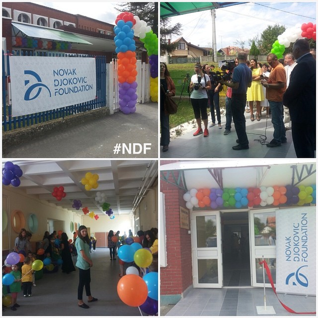 Proud to inform you that we reopened kindergarten Galeb in Petrovac on the Mlava, thanks to your donations! ? #NDFteam #SupportSerbia #reconstruction #poplave #SerbiaFloods #happines #donations