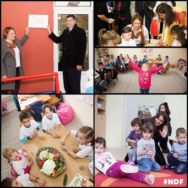 Proud to announce that #SchoolOfLife No. 4 is officially open, in Sirča, near Kraljevo ❤️ #NDF #GoodNews #NDFteam #ProjectUpdate #Serbia #education