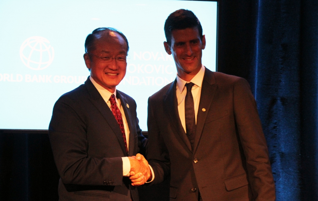 World Bank Novak Djokovic