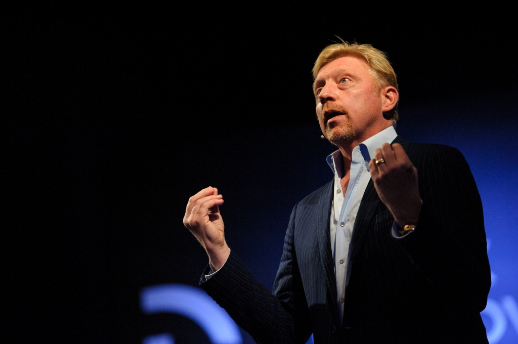 "Boris Becker on the official launch of ""Original"" magazine"