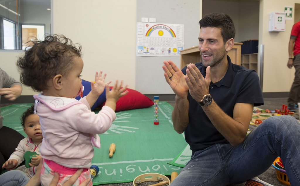 Novak Djokovic Foundation Supports Melbourne Charity
