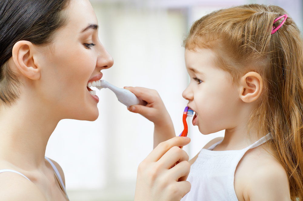 Parents should be aware that their oral health is very important for the oral health of their babies.
