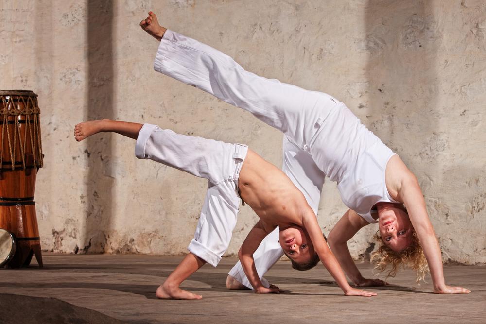 capoeira-training