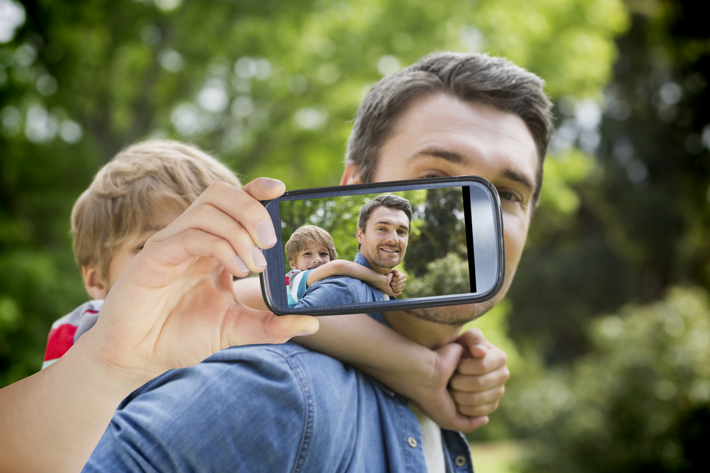 son-and-father-video