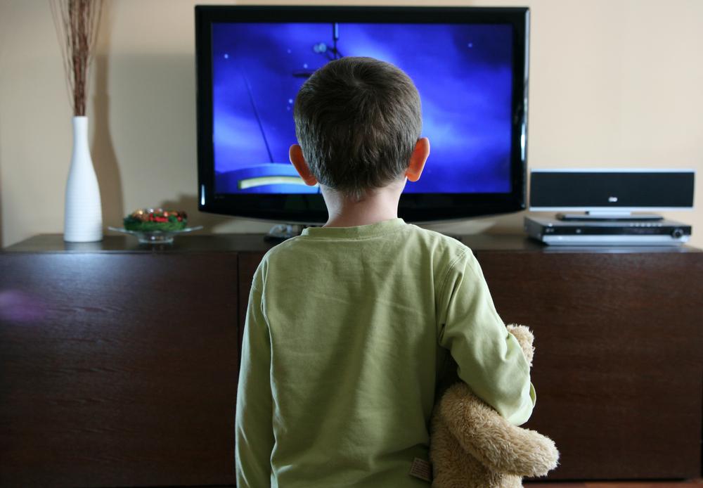 watching-tv-with-sweet-teddy-bear