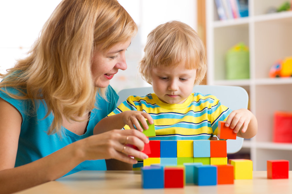 child-boy-together-mother-playing-educational