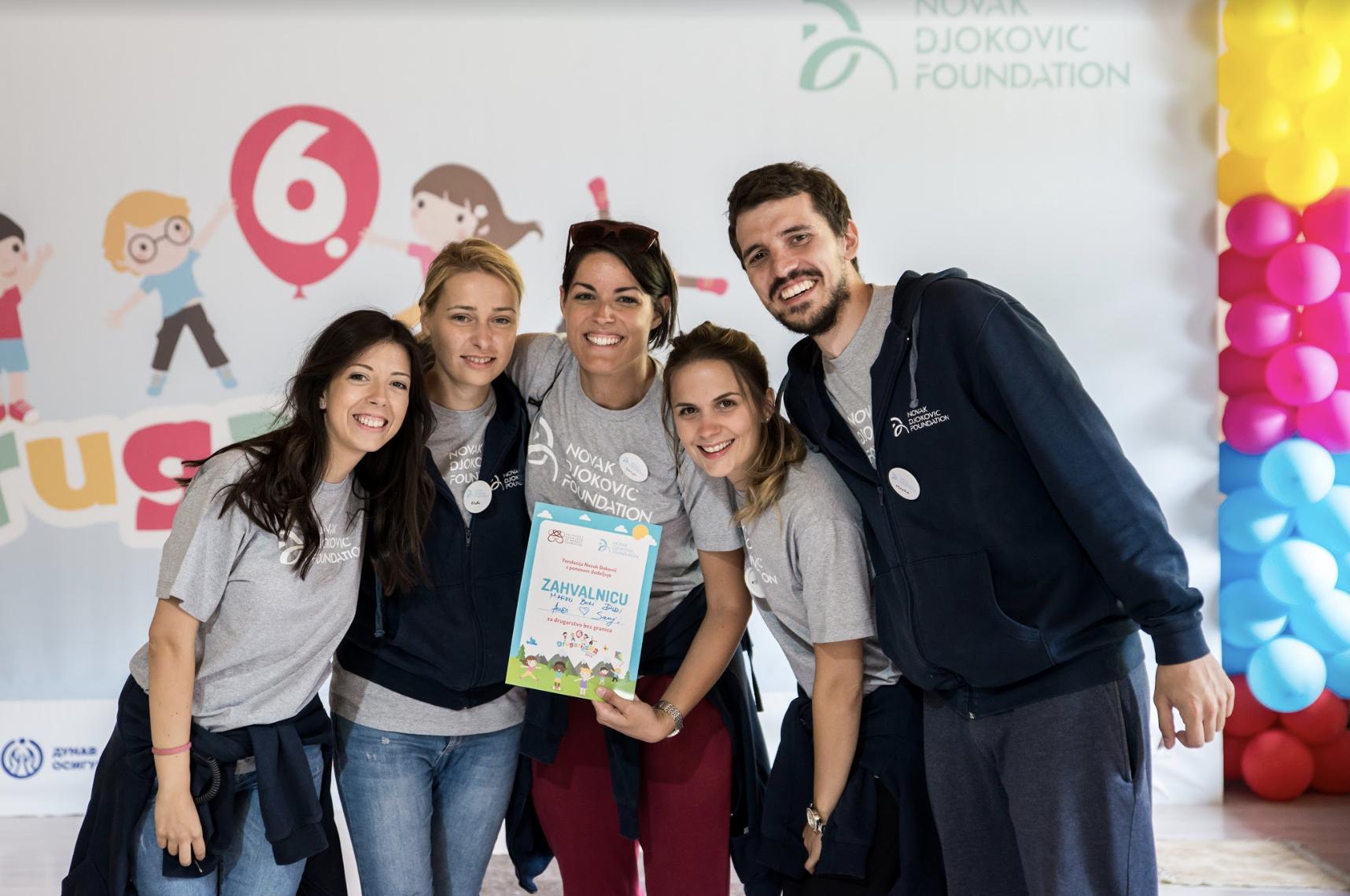 Projektni tim Fondacije na Drugarijadi 2018