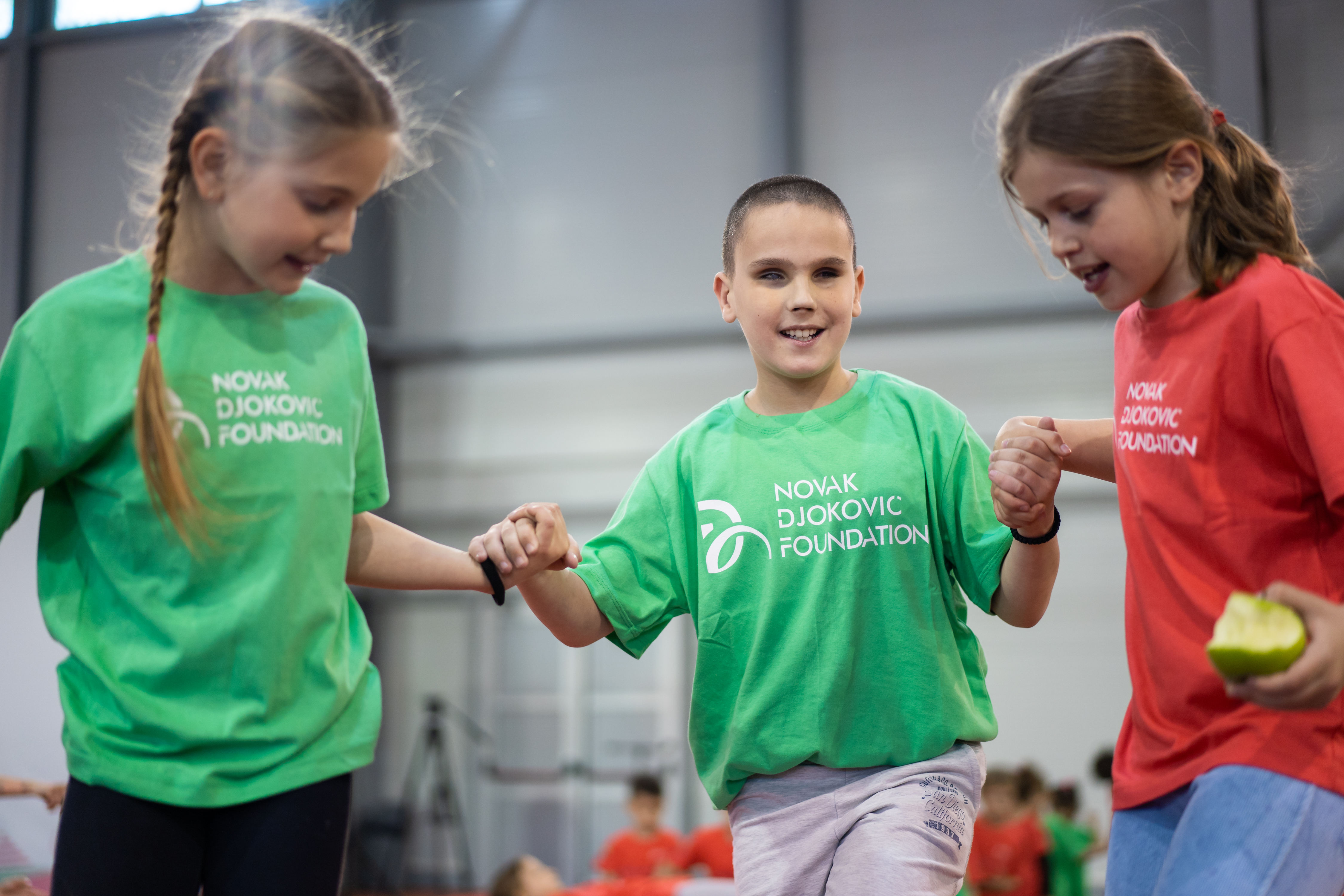 """Najveći uspeh manifestacije """"Odluči se za sport - veruj šampionu u sebi"""" je taj što je barem jedno dete steklo još jednog novog prijatelja."""