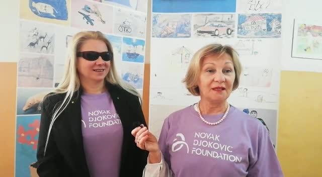 Dijana i Mirjana zajedno čine tim koji pomaže roditeljima slepe i slabovide dece.