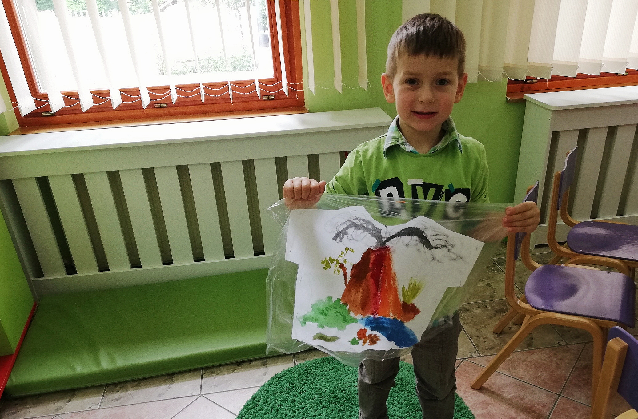 Thanks to donations received last year for Novak's 31st birthday, little Lazar from the village Bobovo got the opportunity to enroll into preschool.