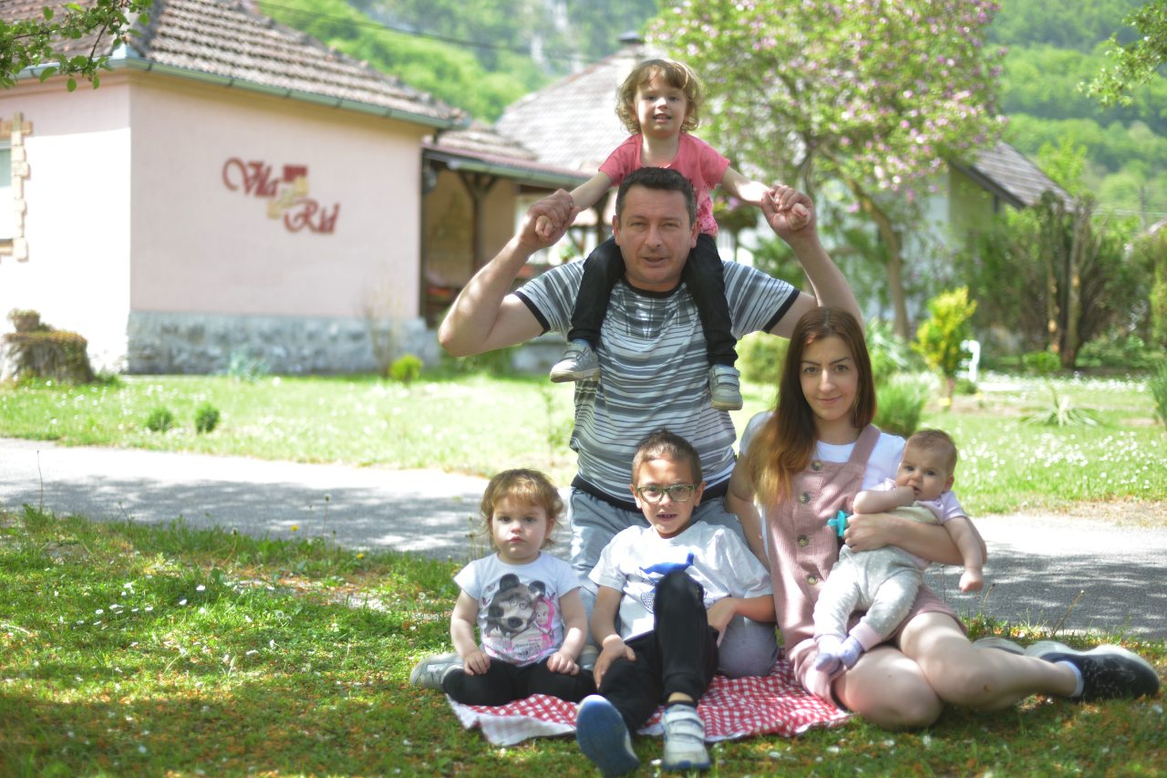 """Tamara Perovic: """"When I became a parent, I knew exactly what kind of parent I didn't want to be."""""""