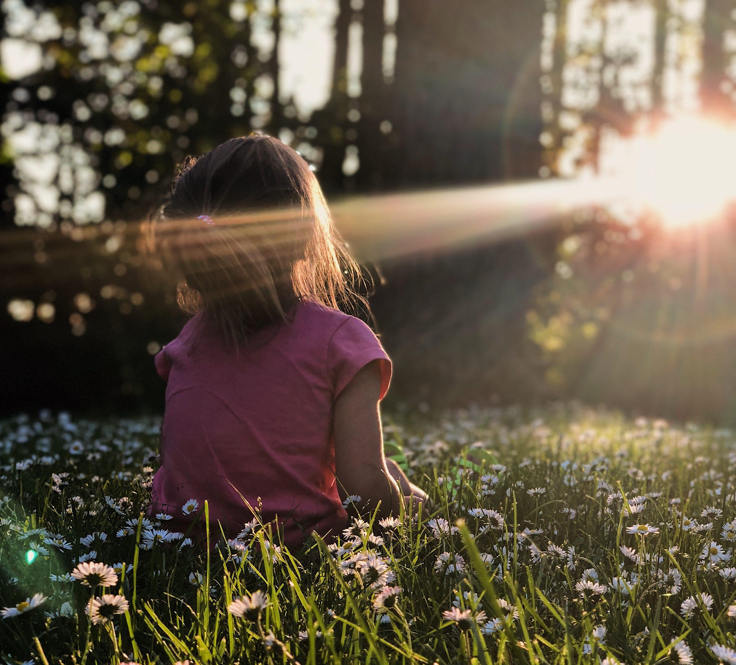 """Meditacija može pomoći deci da se reše """"gužve u glavi""""."""