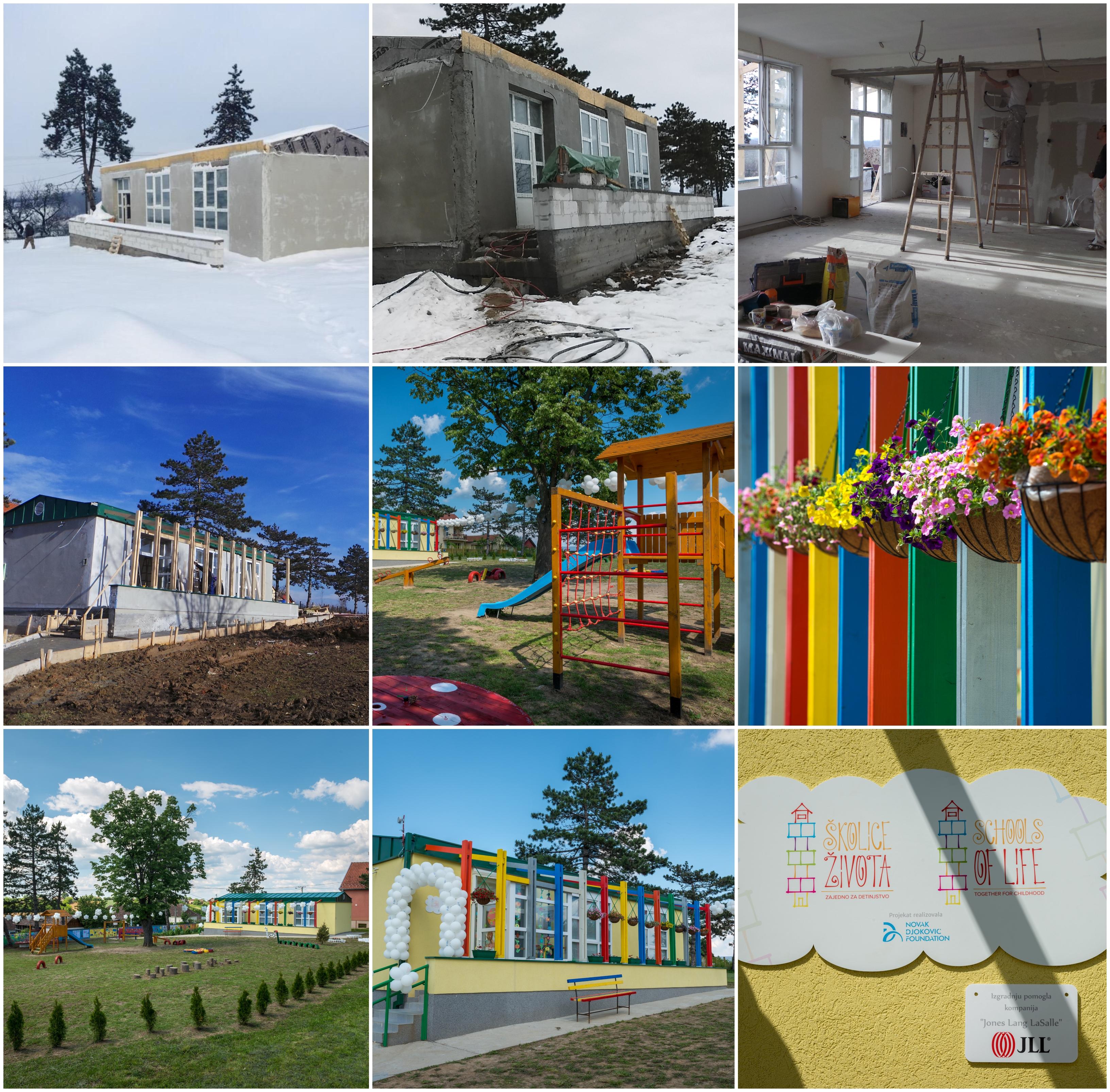 Izgradnja Školice života u Jaloviku, opština Vladimirci.