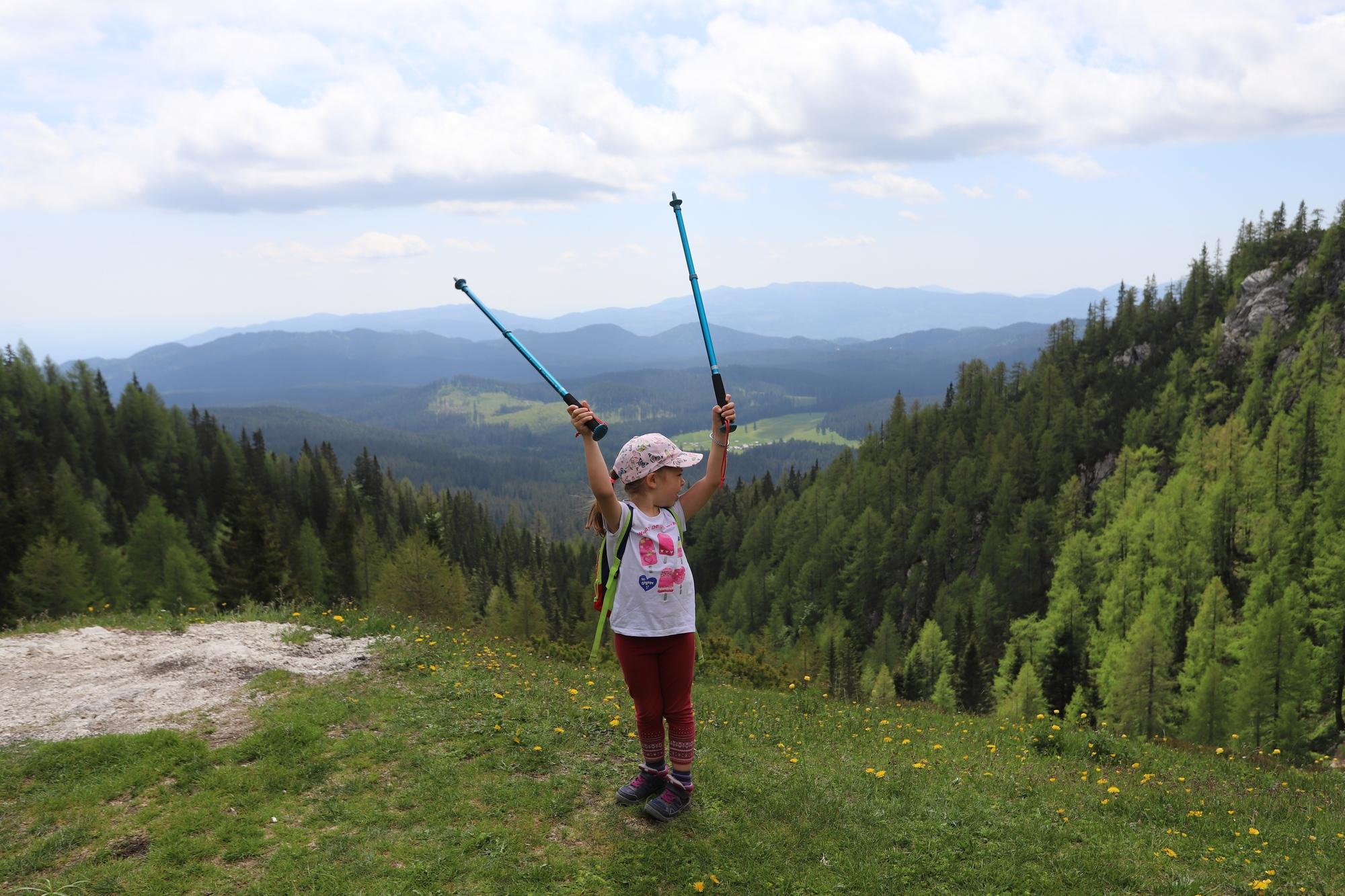 Ako planinarite, decu će posebno motivisati osećaj slobode, prostranstvo, raznolikost predela i na kraju ponos zbog osvojenog vrha.