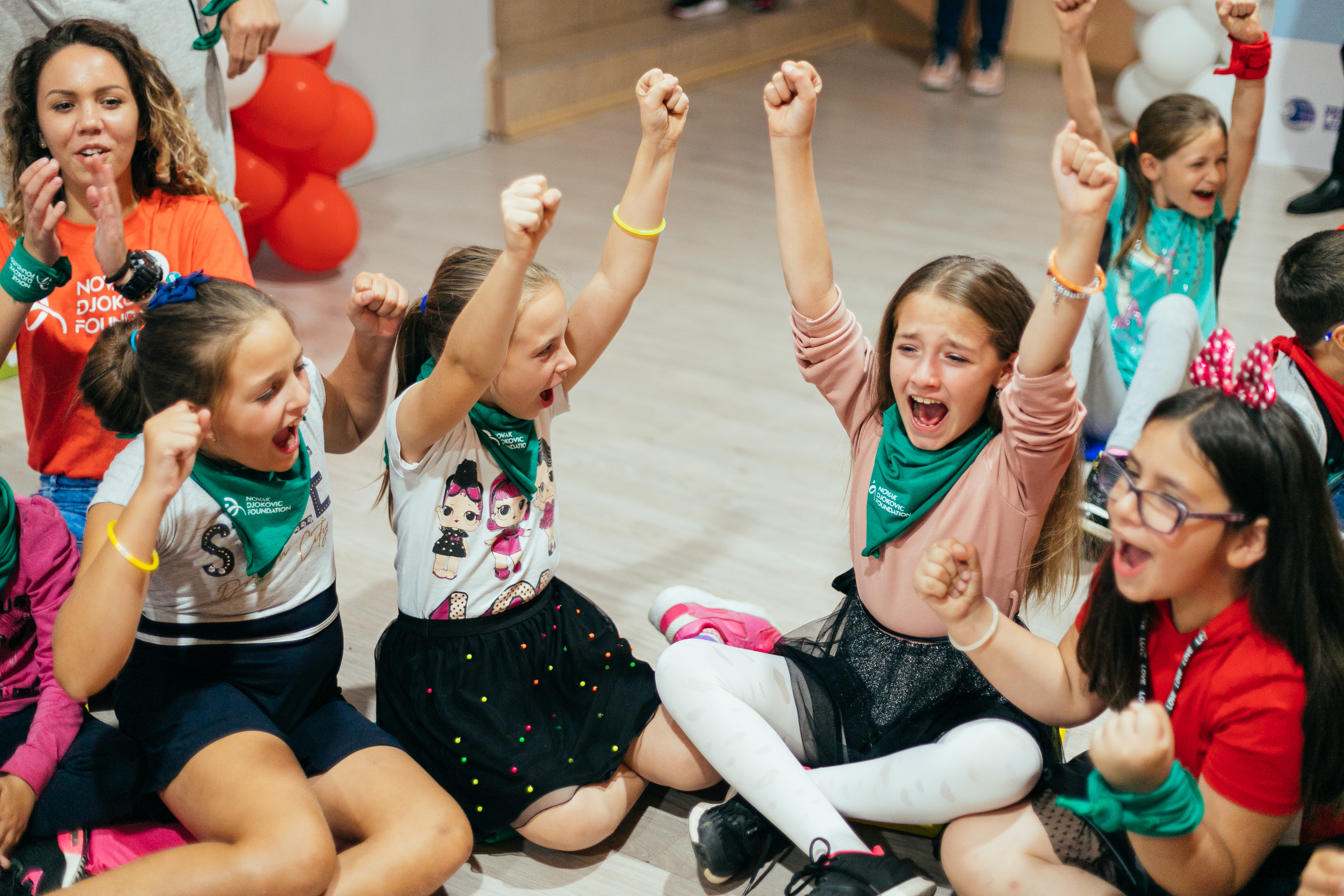It is this kind of children's joy that motivates us to carry out our Friendship Games camp and to take children from rural areas on an unforgettable adventure in nature.