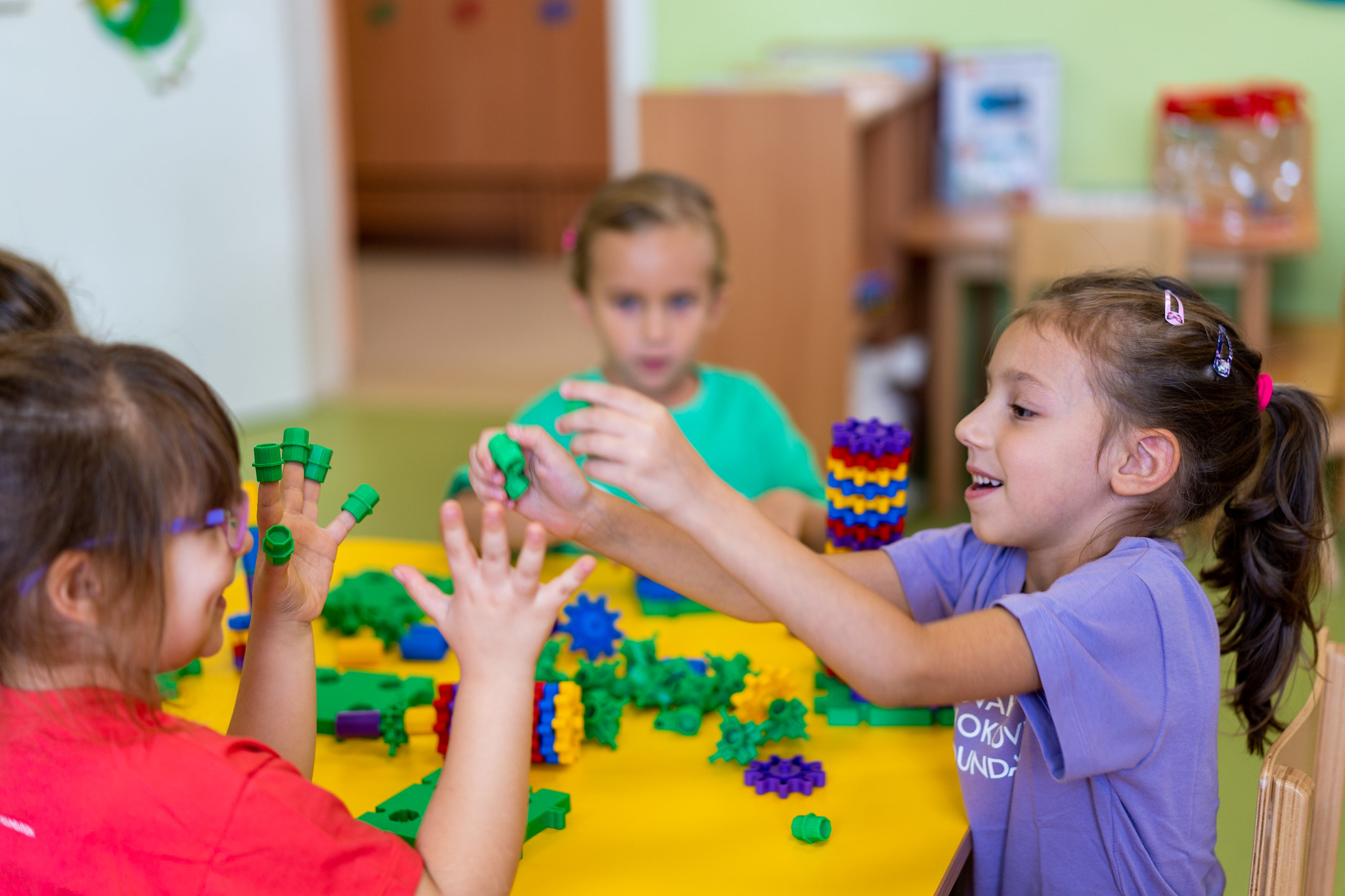 Dr. Montessori believed that everything around the child and everything they are in contact with is a source of information about the world surrounding it, and therefore a learning instrument.