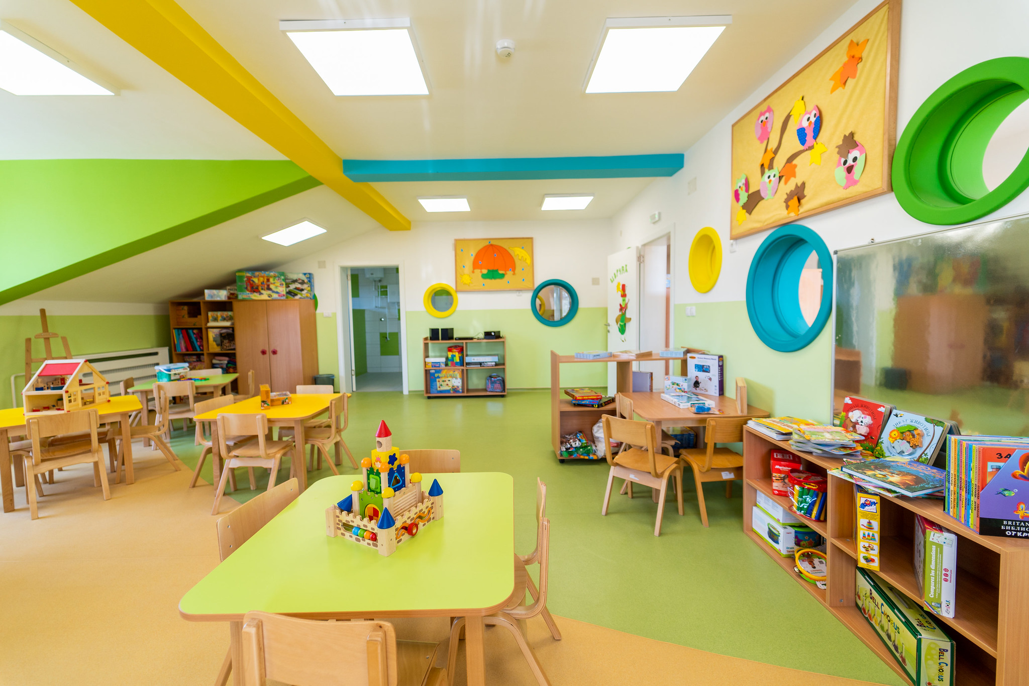 Soon our new preschool will look like the beautiful preschool we opened in Svilajnac.
