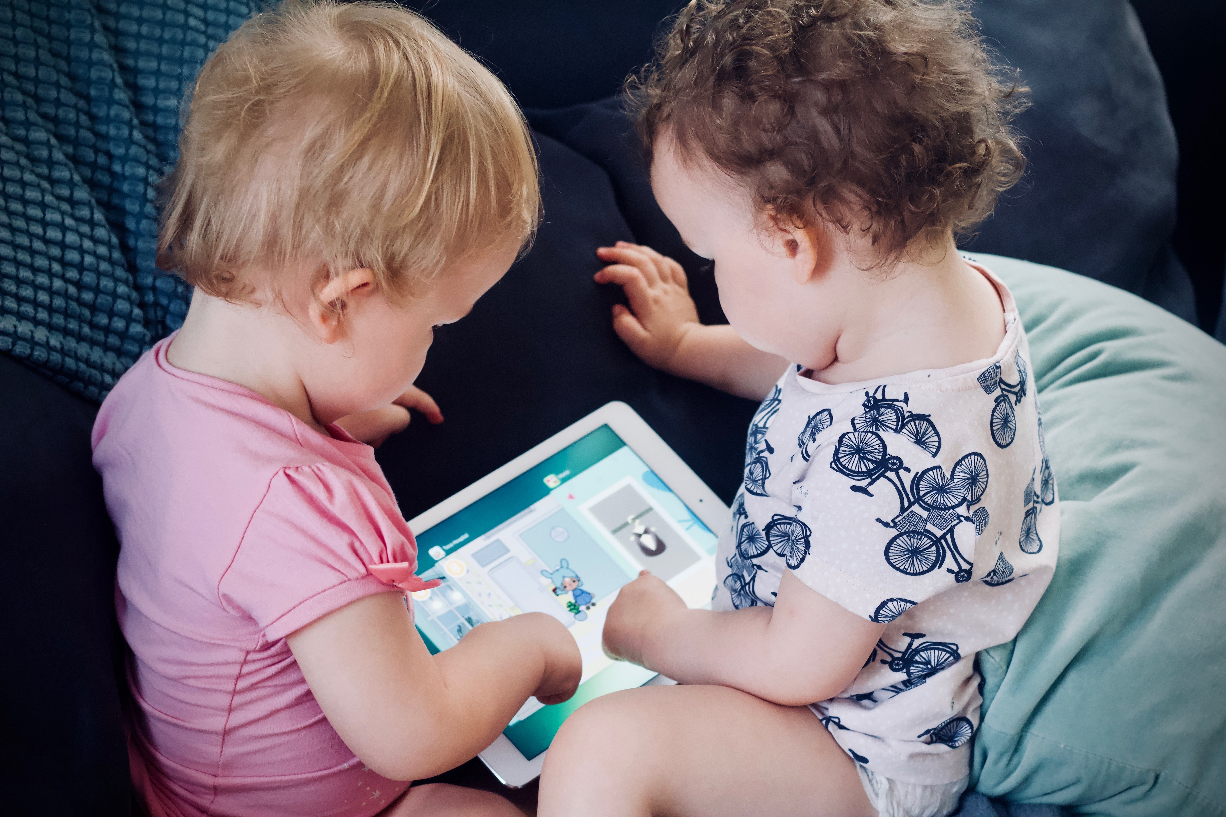 E-books not only help to learn words and letters faster but also encourage children to be interested and love reading.