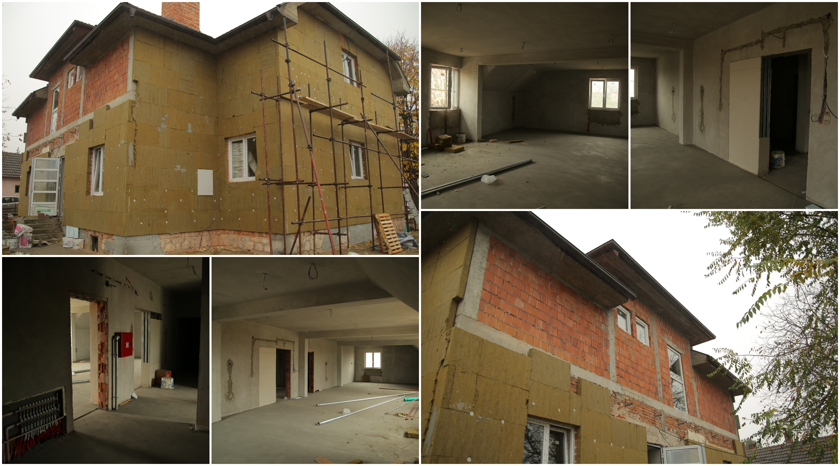 Results of our last year's Season of Giving campaign: Reconstruction works on preschool in Topola Municipality.