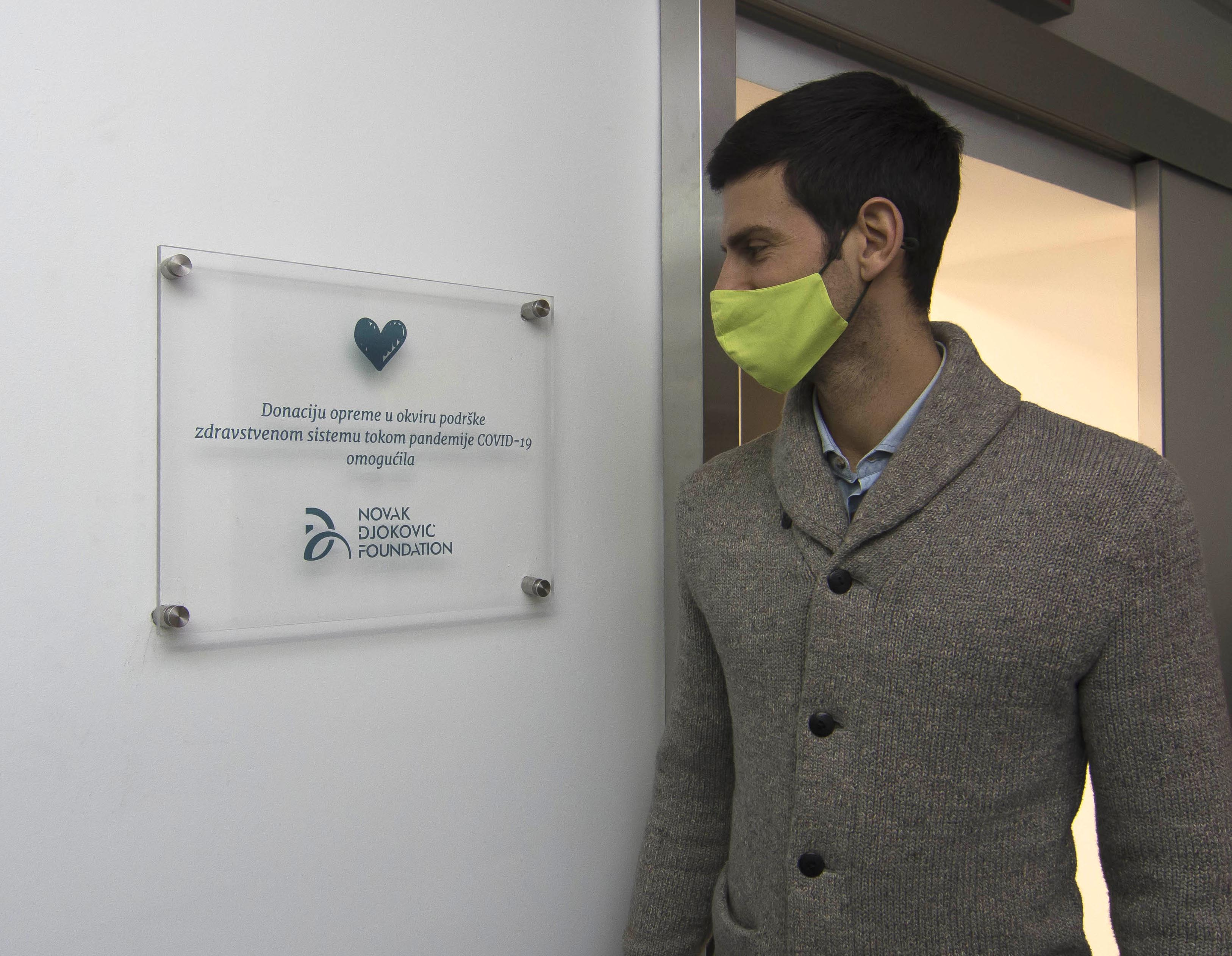 """When delivering donations, the Foundation's team was guided by the goal of helping the biggest """"pandemic hotspots"""", but also other cities throughout Serbia."""