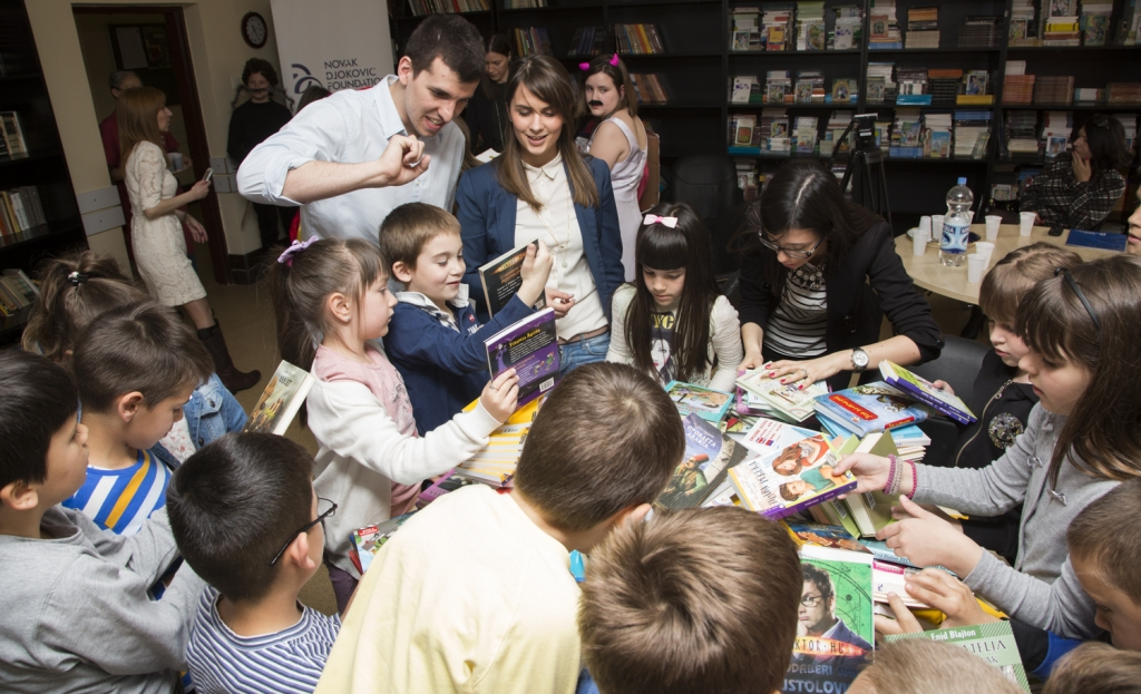 International Book Day - NDF Donation | Novak Djokovic Foundation