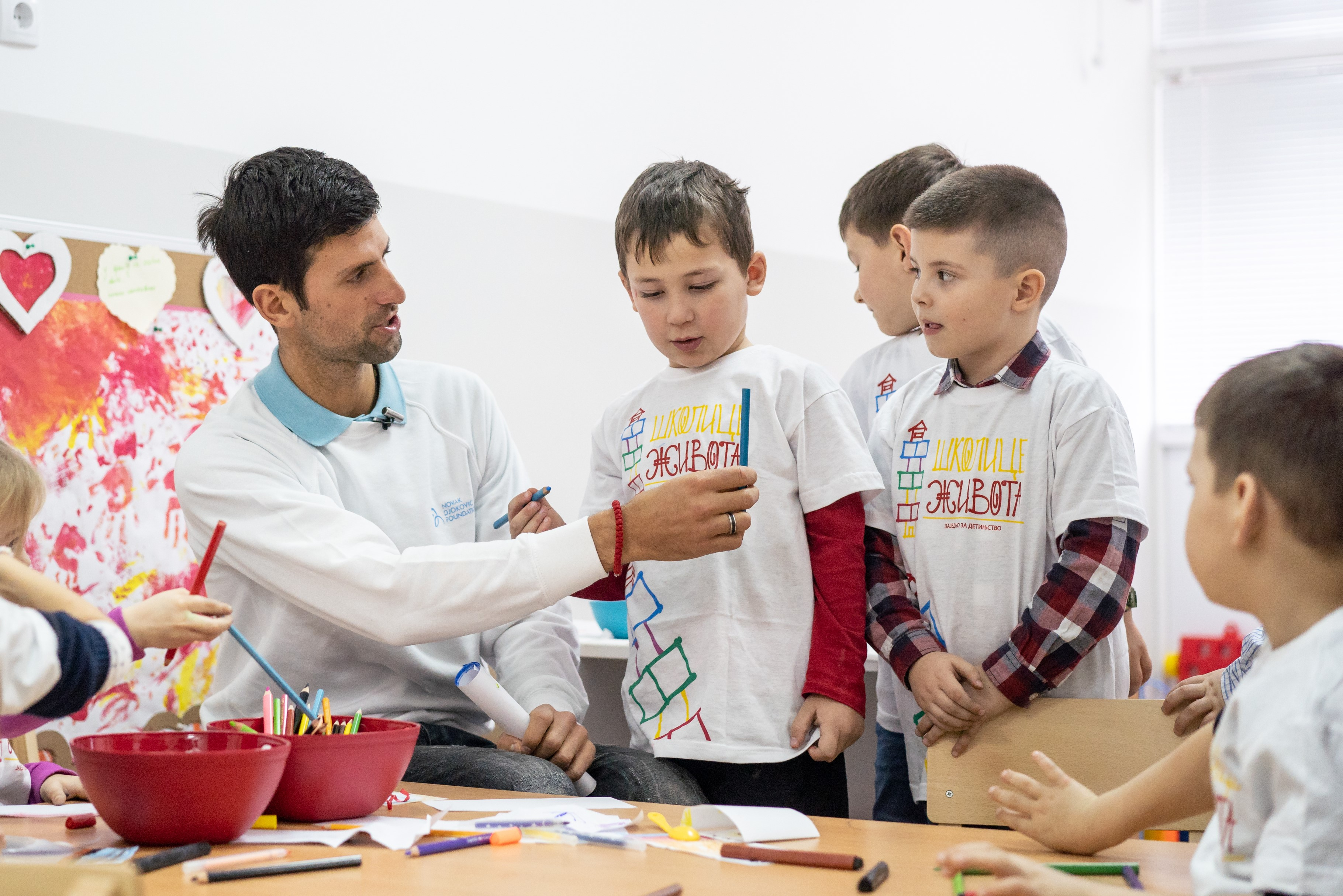 Montblanc Joins Our Mission For Quality Early Childhood Development Novak Djokovic Foundation