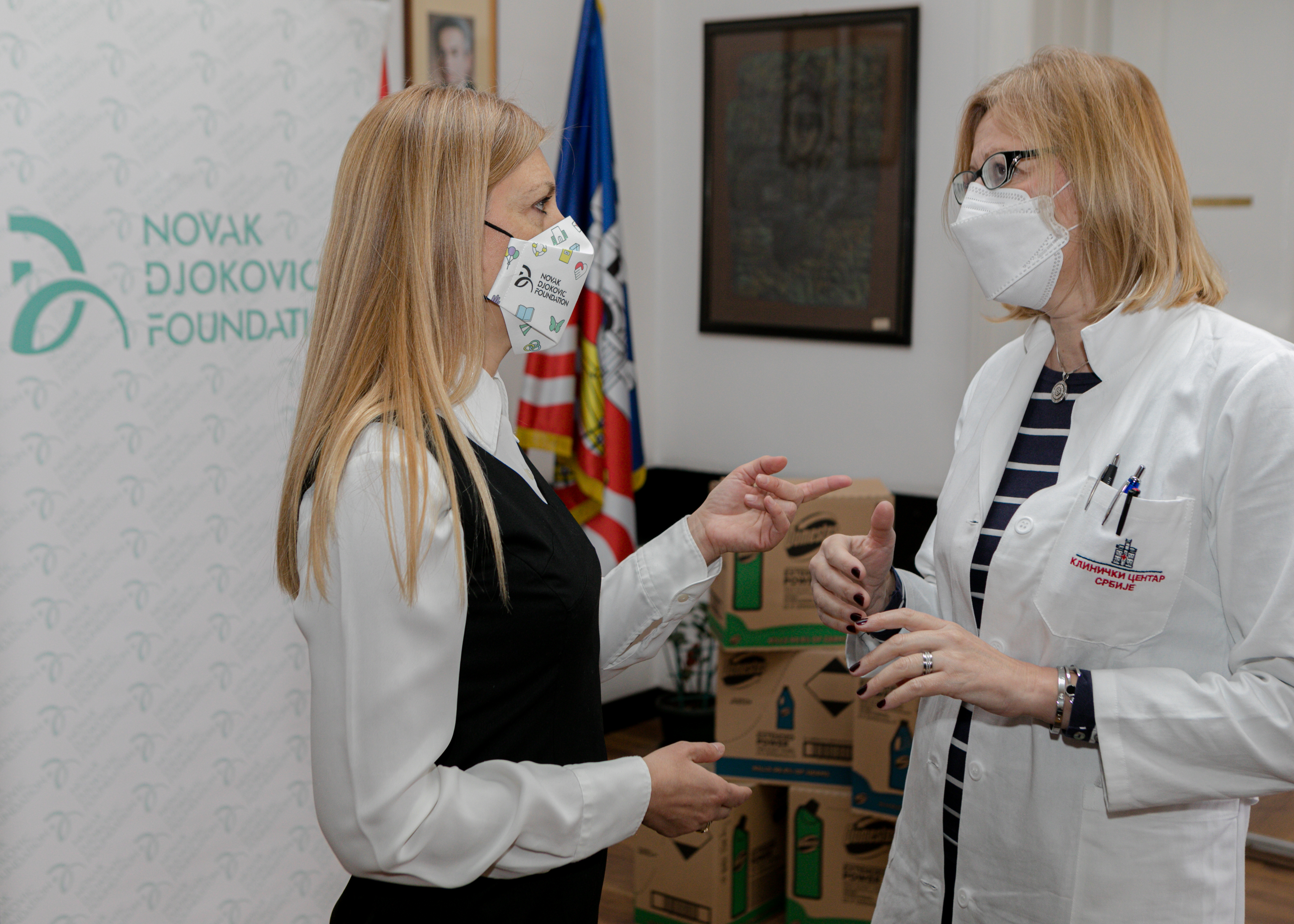 In cooperation with Unilever and distributor, Mercata VT we donated Domestos products worth over EUR 30,000.