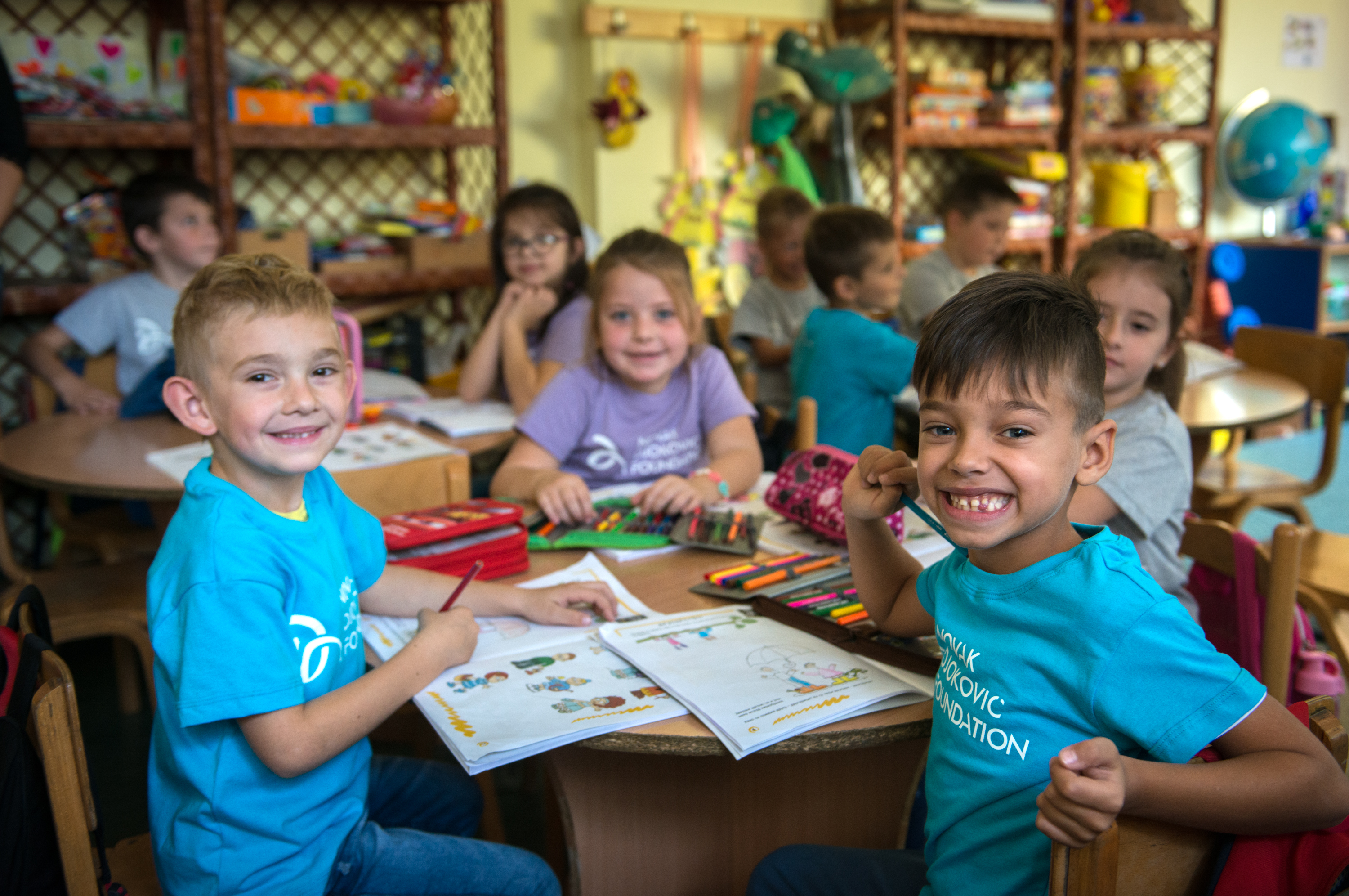 The founders of the Foundation, Novak and Jelena Djokovic, inspired by the gestures of all who joined the campaign, decided to double the raised amount of USD 140.000 with their personal funds, which means that almost USD 280.000 will be invested in the opening of new preschools in Serbia.